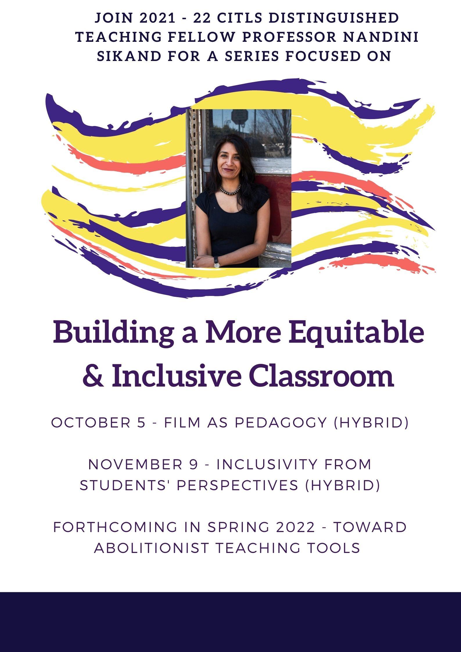 Inclusive Classrooms Series 2021-22